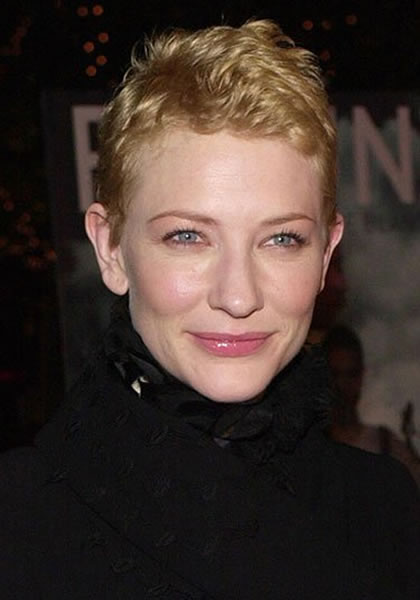 Cate Blanchett's face in year 2000