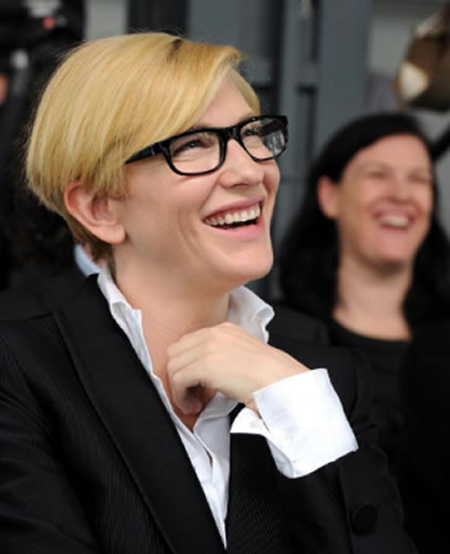 Cate Blanchett 2010 in Sydney