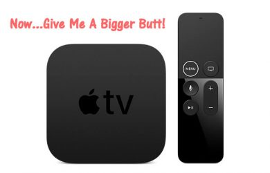 Apple TV unit