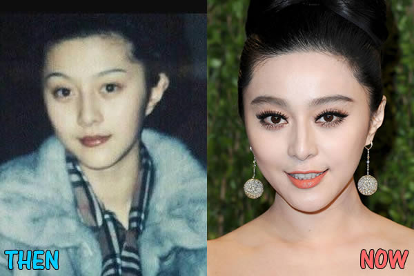 Fan Bingbing Before and After 2