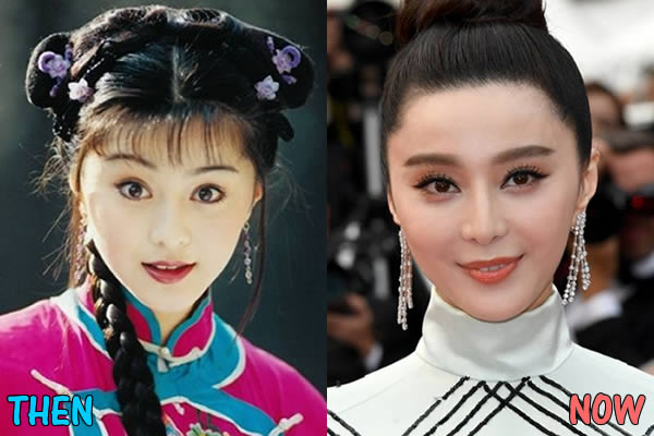 Fan Bingbing Before & After 3