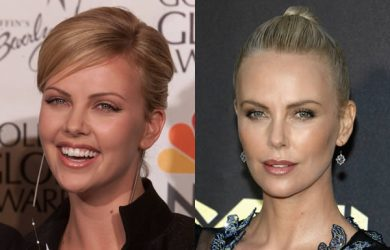 Charlize Theron Before and After