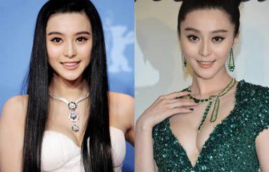 Fan Bing bing bust size comparison