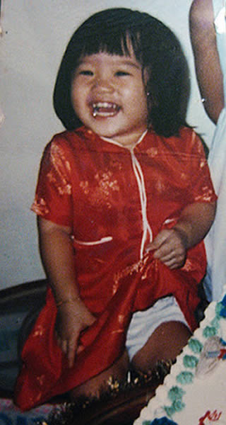 Xiaxue at 2 years of age