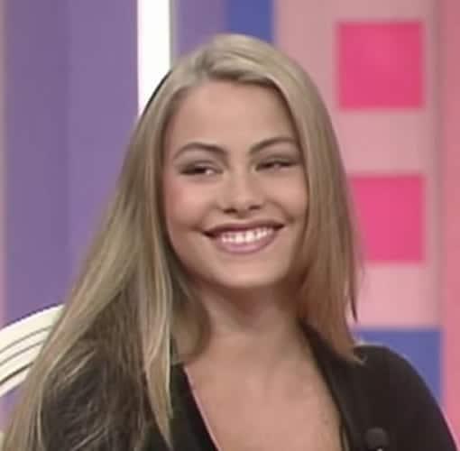 Blonde Sofia vergara