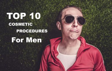 Top 10 Cosmetic Surgery Procedures For Men
