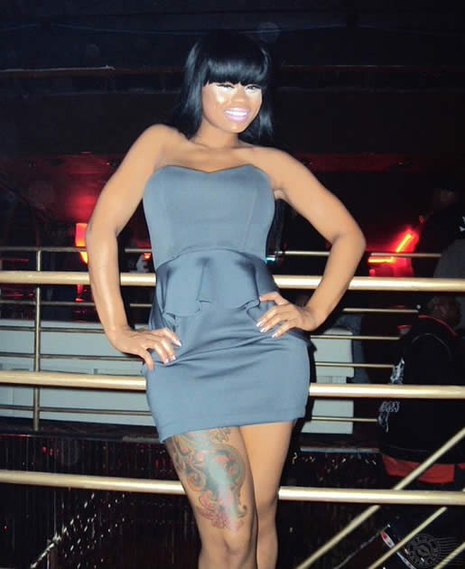 Blac chyna plastic surgery exposed before after photos for Blac chyna leg tattoo