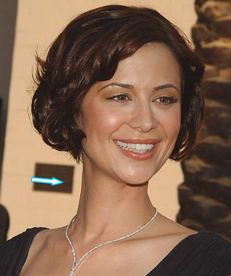 Catherine Bell Neck Scar?