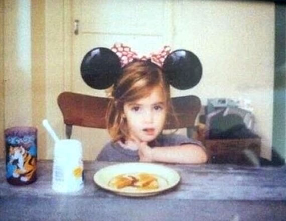 Emma Watson when she was young