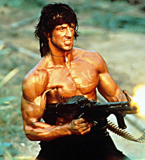 Stallone 1982 - Rambo Movie First Blood