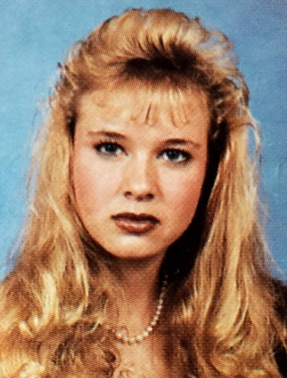 Renee Zellweger when she was young