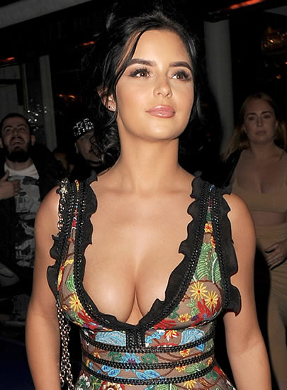 Demi Rose Mawby in 2018