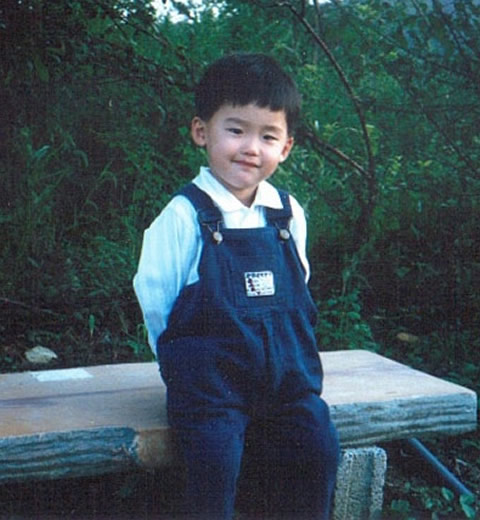 Young Lee Jong Suk when he was a child