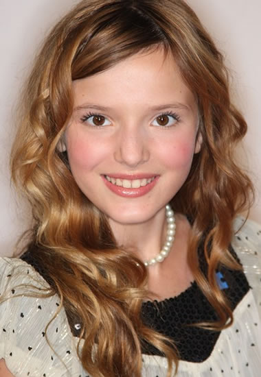 Young Bella Thorne as a child