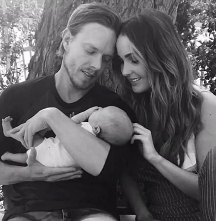 Camilla Luddington's Family Photo