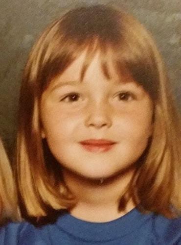 Young Camilla Luddington