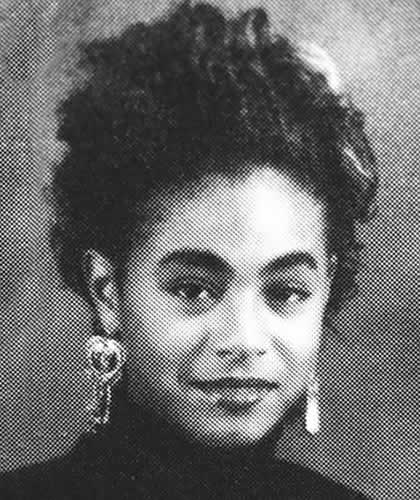 Jada Pinkett Smith as a teenager