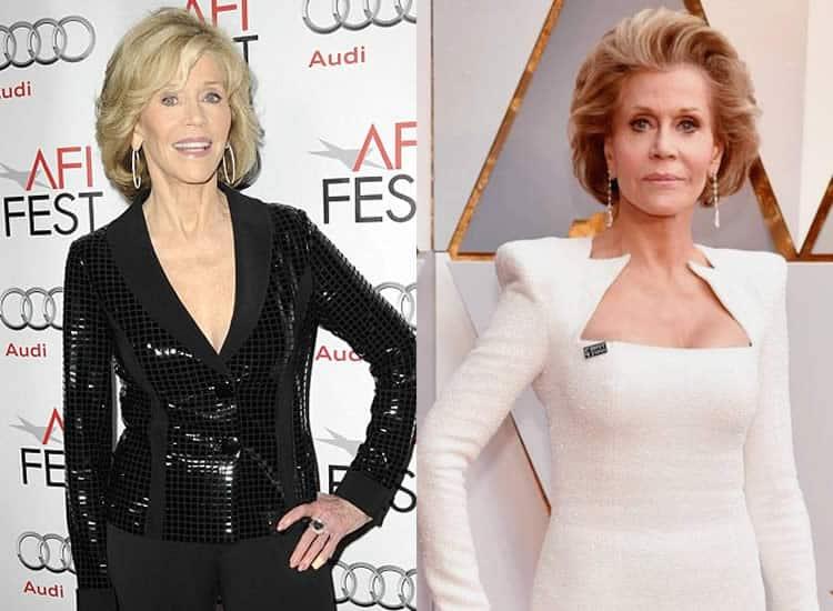 Does Jane Fonda Have Boob Job?