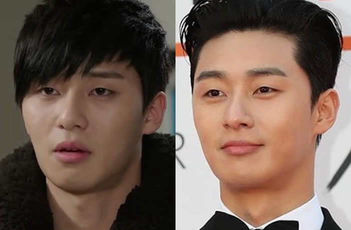 Park Seo Joon Before and After