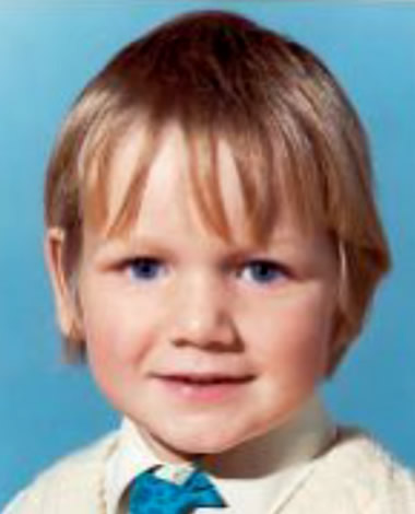 Young Gordon Ramsay as a child