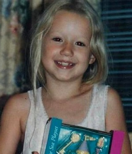 Young Iggy Azalea as a child
