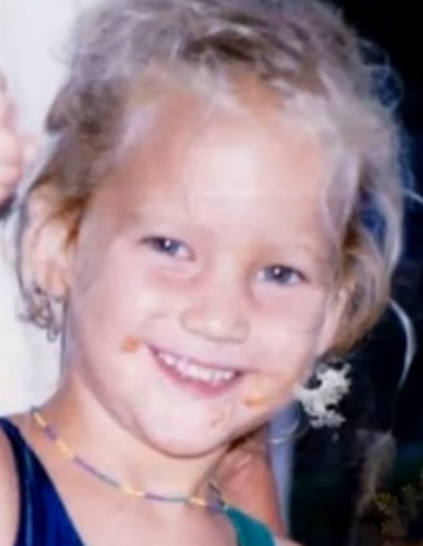 Young Jennifer Lawrence as a child