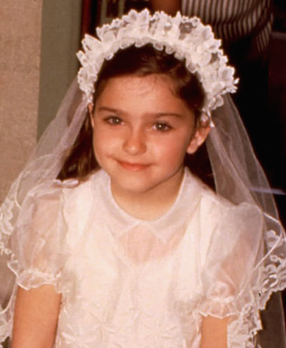 Young Madonna when she was a child.