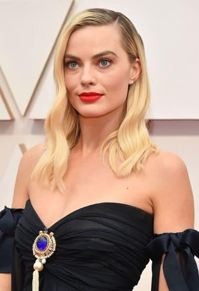 Margot Robbie in 2020