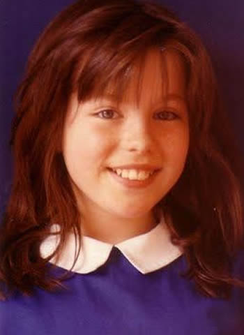 Young Kate Beckinsale as a child
