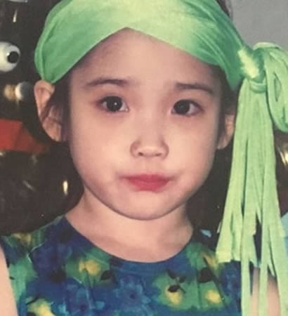 IU in her childhood days