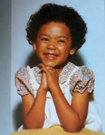 Mel B during her childhood