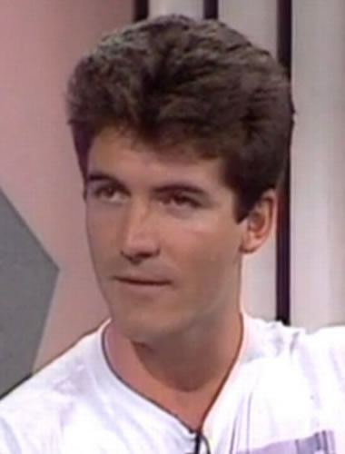 Simon Cowell during 1990