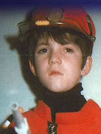 Young Simon Cowell during his childhood