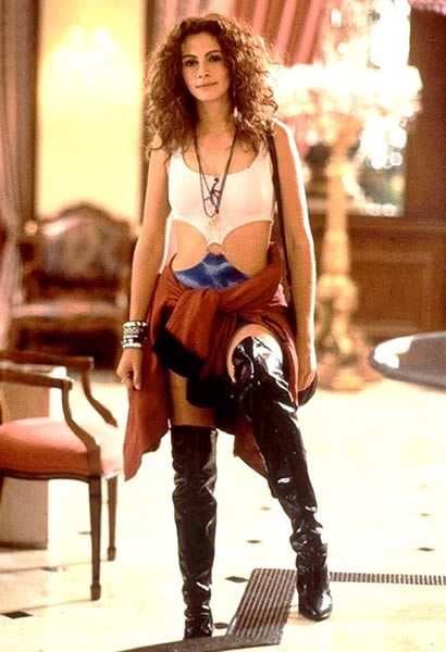 Julia Roberts 1990 in Pretty Woman