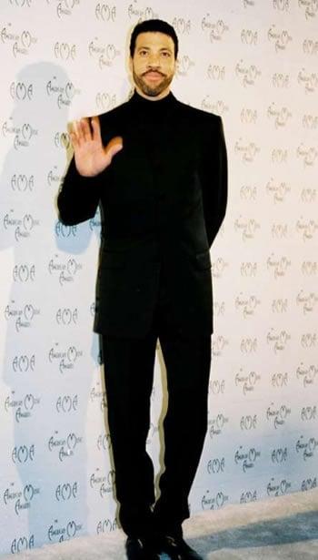 Lionel Richie in 1996