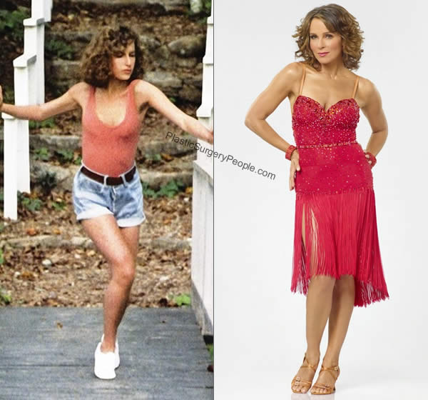 Jennifer Grey's body before and after