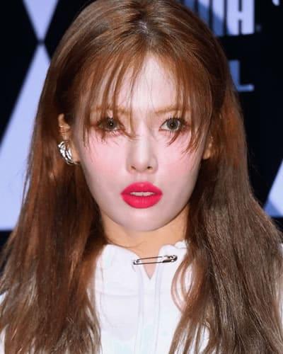 Hyuna in 2019