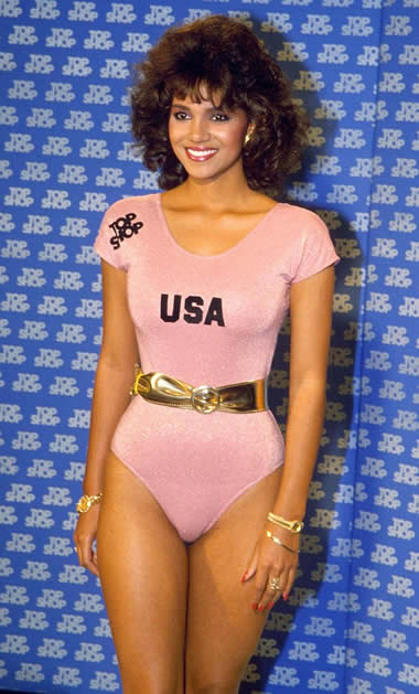Halle Berry in 1986