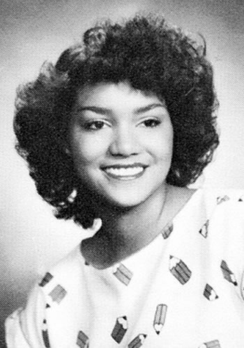 Halle Berry in High School