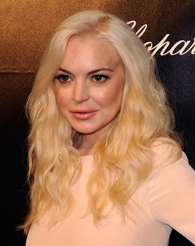 Lindsay Lohan in 2012