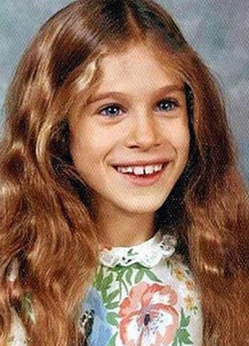 Young Sarah Jessica Parker during childhood