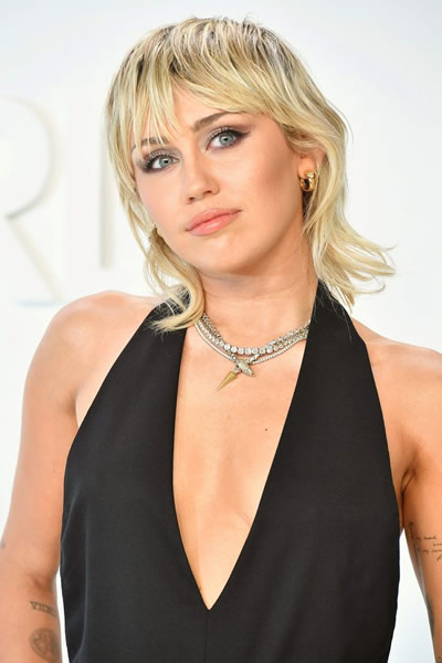 Miley Cyrus in 2021