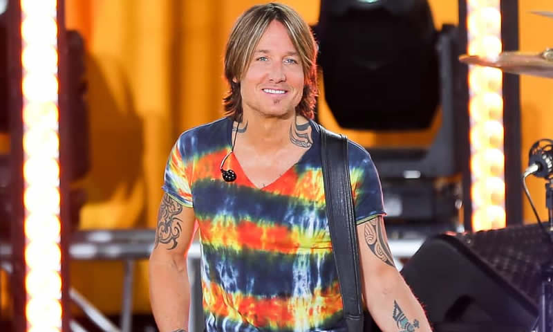 Keith Urban in 2020